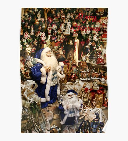 Time For Santa  Poster