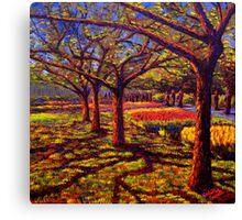 Keukenhof Shadows Canvas Print
