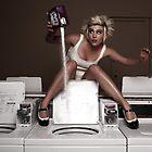 Doing my laundry... by FRANK SARTORI