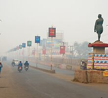 Misty Morning at Dhanbad by Mukesh Srivastava