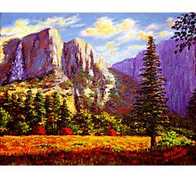 Yosemite Falls Photographic Print