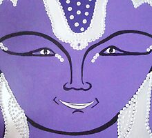 Purple Buddha by Deva Saal