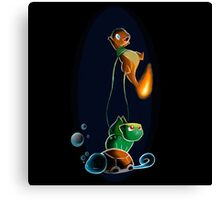 Air brushed starters Canvas Print