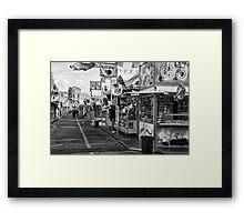 Funfair Framed Print