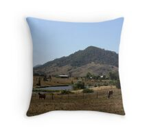 The Hills Of Gosforth Throw Pillow