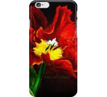 The Red Tulip iPhone Case/Skin