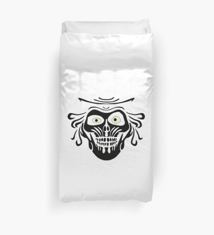 Hatbox Ghost - Wallpaper-Style Duvet Cover