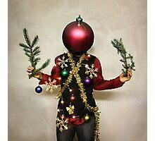 Christmasthing. Photographic Print