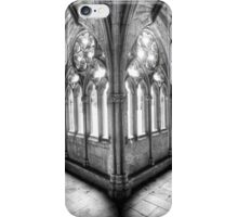 Lincoln Cathedral Cloisters iPhone Case/Skin