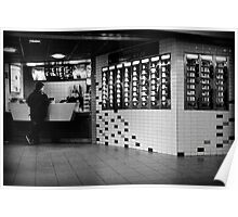 Snack Vending Machines Poster