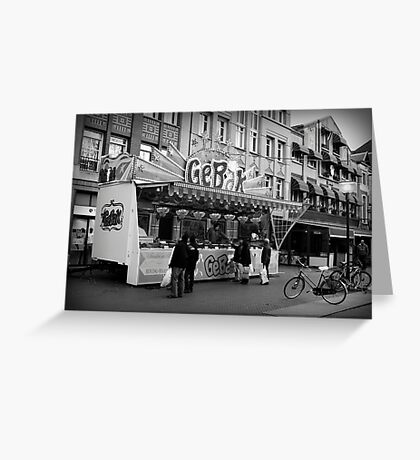Baked Goods Food Stand Greeting Card