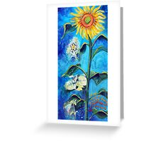 Growing slowly Greeting Card