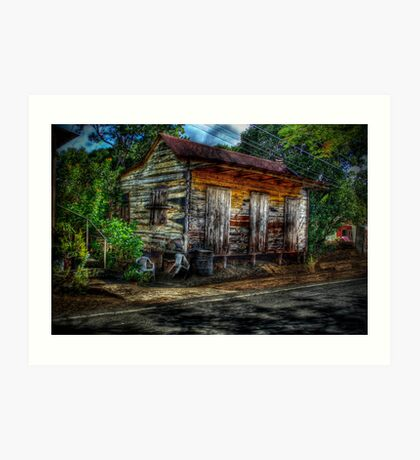 Old House (HDR) Art Print
