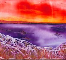 Martian Sunset by Anne Pearson