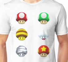 Nintendo - Every Mushroom Unisex T-Shirt