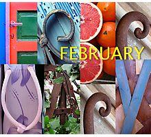 February Photographic Print