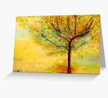 A Poem  Lovely As A Tree Greeting Card