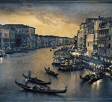 Venetian dusk by James Rowland