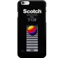 Scotch 5Boro Nostalgic VHS Tape iPhone Case/Skin