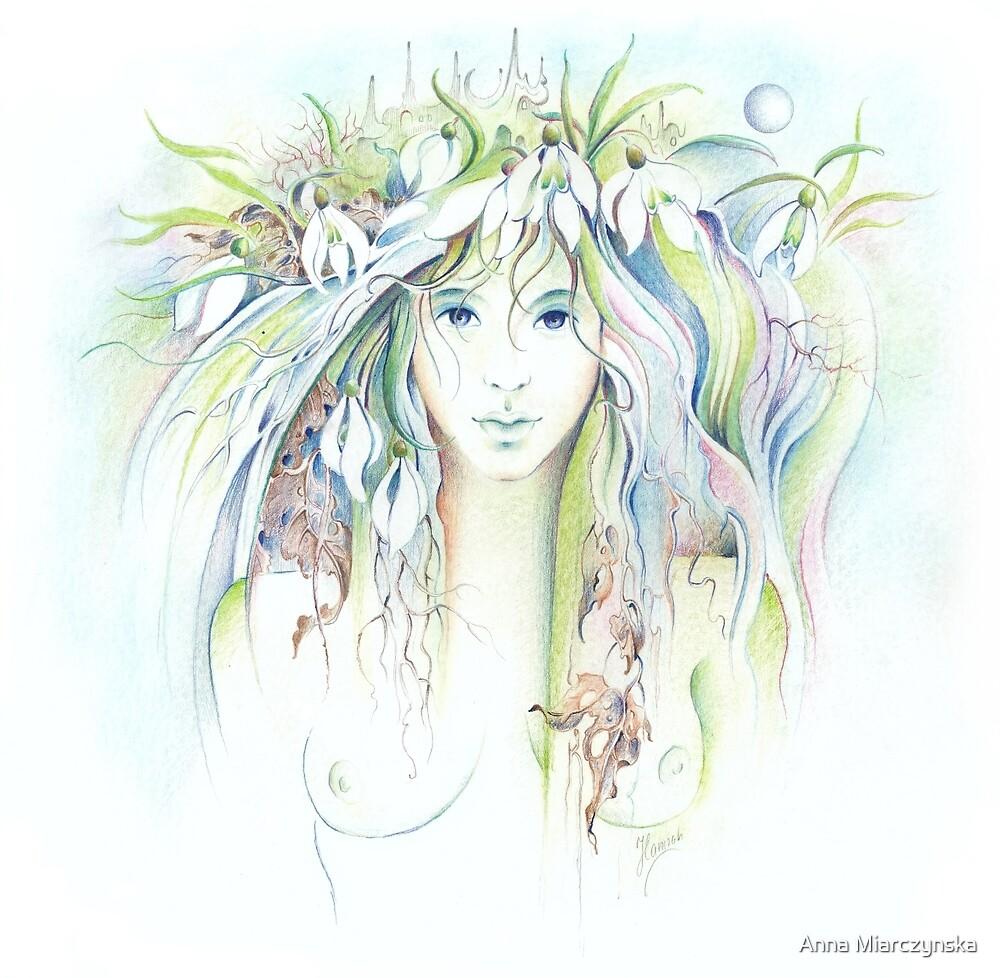 """APRIL"" from ""Calender Sheets"" by Anna Miarczynska"
