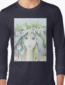 """""""APRIL"""" from """"Calender Sheets"""" Long Sleeve T-Shirt"""