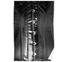 Shiny PVC corset... Poster