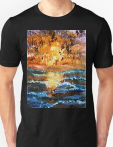 Sea Sunset Unisex T-Shirt
