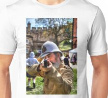 Halt! Who Goes There? Unisex T-Shirt