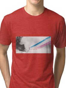 Red Arrows Black and White Tri-blend T-Shirt