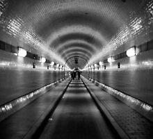 Hamburg - Alter Elbtunnel by Ronny Stiffel