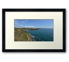 Polurrian Bay,Cornwall Framed Print