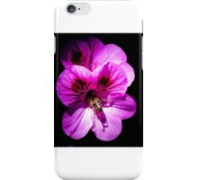 Bee in flower iPhone Case/Skin