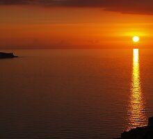 Sunset over Filfa - Malta by Patrick Anastasi
