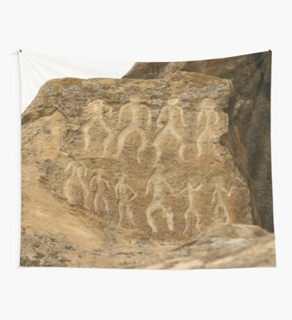 an inspiring Azerbaijan landscape Wall Tapestry