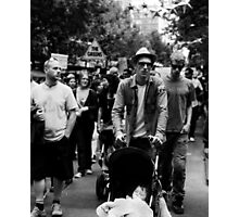 Walk Against Climate Change Photographic Print