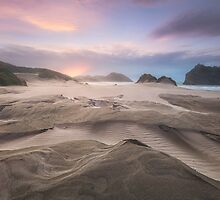 Wharariki Afterglow by Michael Breitung