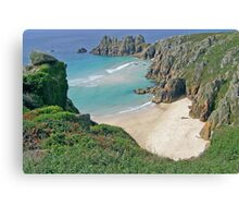 Pednvounder Cove,Cornwall Canvas Print