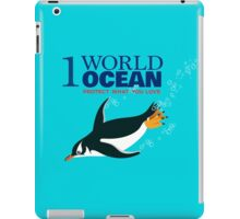 1 World Ocean - Gentoo Penguin iPad Case/Skin