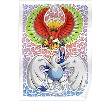 Ho-oh! Lugia! Poster