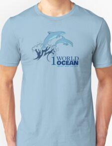 1 World Ocean - Dolphins T-Shirt