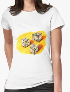 3 Boxes Womens Fitted T-Shirt