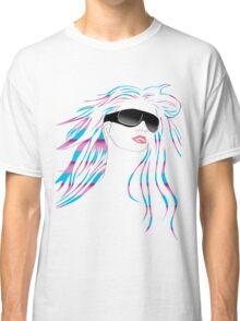 Retro Stripe Classic T-Shirt
