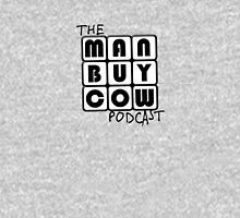ManBuyCow B&W Roobix Womens Fitted T-Shirt