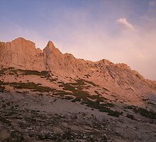 Matthes Crest at Sunset by SometimesSilent