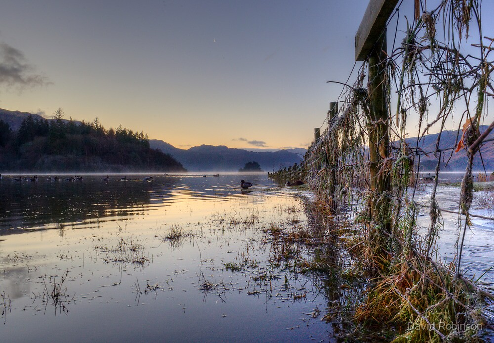 Derwentwater Dawn by David Robinson