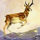 Pronghorn in the Morning by Patricia Howitt