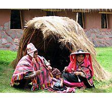 Incan Family Photographic Print