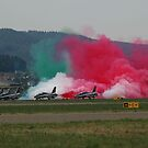 "FRECCE TRICOLORI ""salute to the people"". by giuseppe maffioli"
