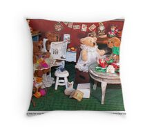 Matilda's Beau Throw Pillow