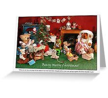 Hilda's Holiday Surprise Greeting Card